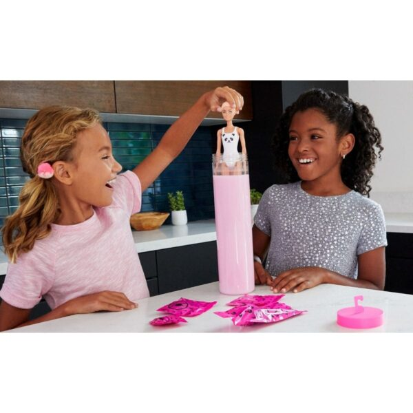Barbie Color Reveal Doll With 7 Surprises Pink