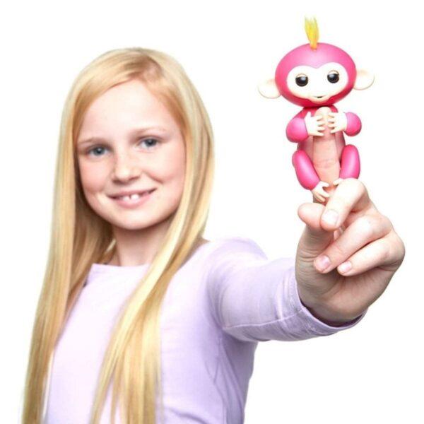 Fingerlings Summer Pink Monkey Interactive Pet
