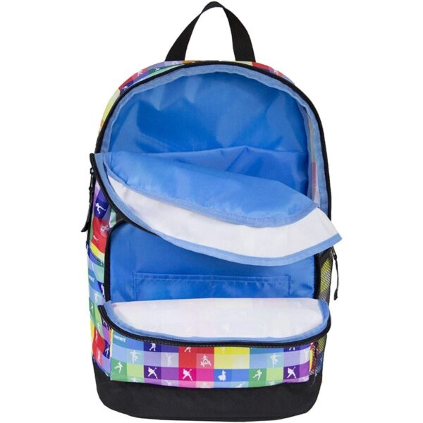 Fortnite School Backpack Multicolor Checkers