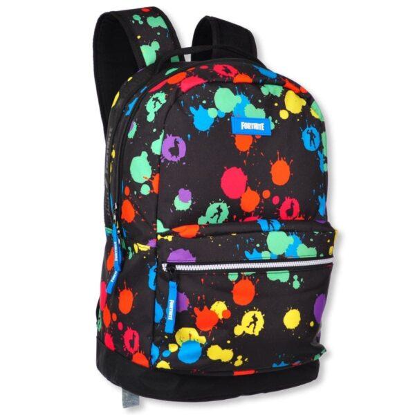 Fortnite Black Paintball School Backpack