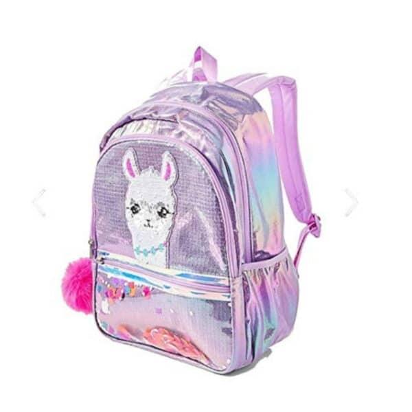 Justice School Backpack Llama