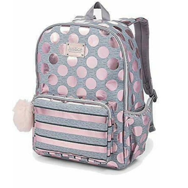 Justice Rose Gold Backpack