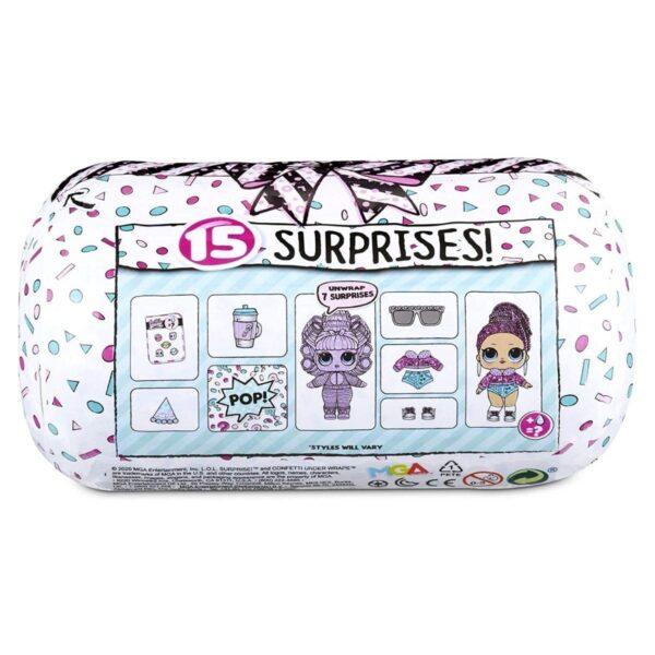 L.O.L. Surprise! Doll Confetti Under Wraps