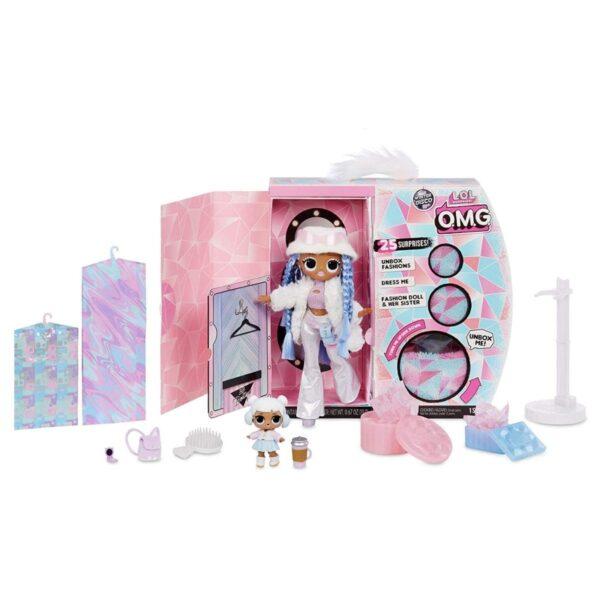 L.O.L. Surprise! Doll Snowlicious O.M.G. Winter Disco
