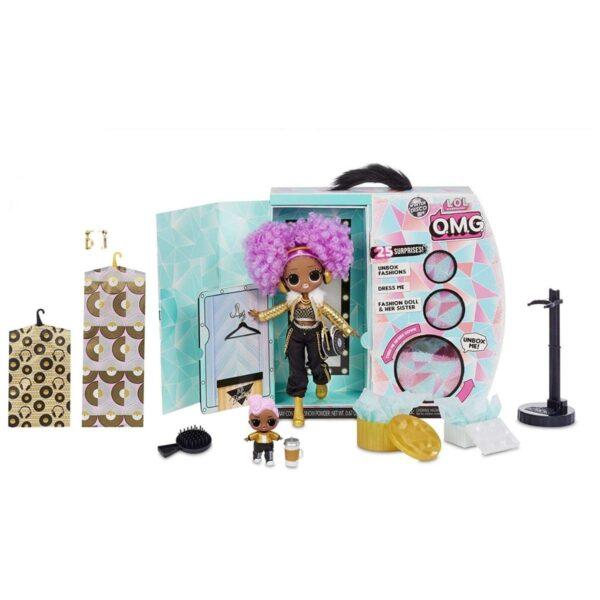 L.O.L. Surprise! Doll Winter Disco 24K DJ