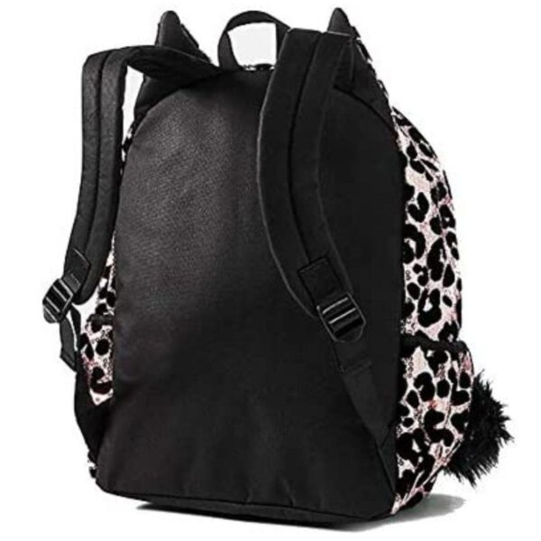 Justice Animal Print Cheetah School Backpack with Sequins