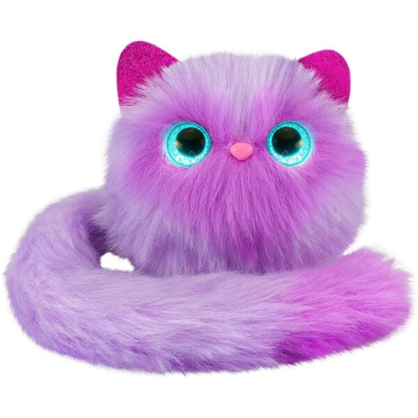 Pet Pomsies Boots Purple Lavender Interactive Plush