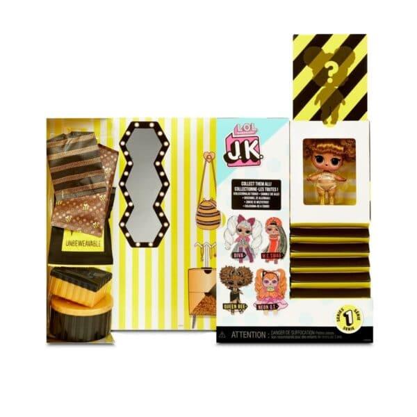 L.O.L. Surprise! Mini Fashion J.K. Queen Bee 15 Surprises