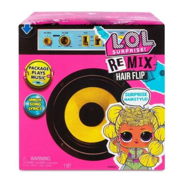 L.O.L. Surprise! Remix Hair Flip