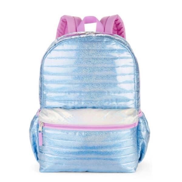 Wonder school backpack mermaid blue