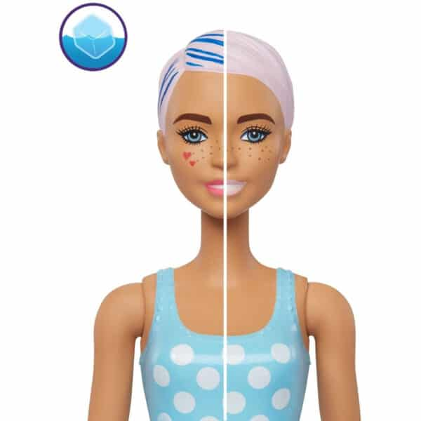 Barbie Day-to-Night Color Reveal Doll con 25 Sorpresas & Day-to-Night Transformation Beach to Party