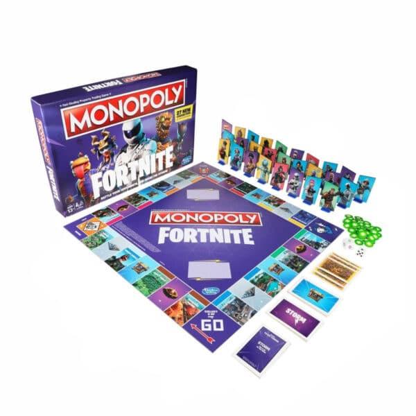 Fortnite Monopolio, Juego en Ingles