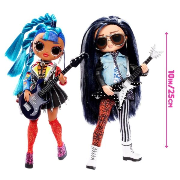L.O.L Surprise OMG Remix Two Pack, Rocker Boi and Punk Grrrl