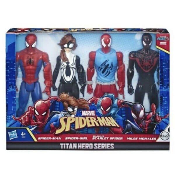 Spiderman titan Hero series 4 pieces