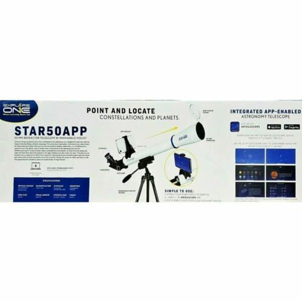 ExploreOne Star50App Telescopio