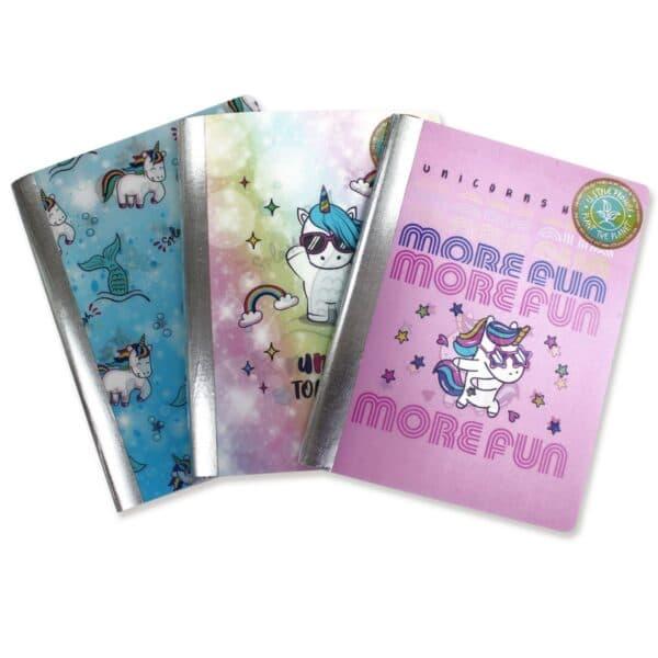 U Style Unicorn Magic Composition Book, 100 Sheets