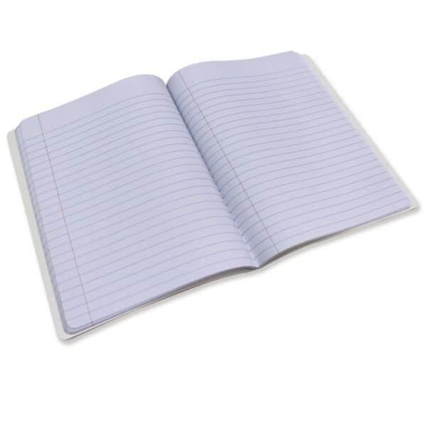 2 Pcs. Pen + Gear Poly Composition Book 80 Sheets Llama.