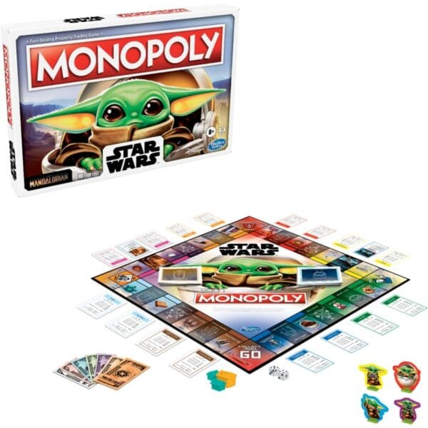 Star Wars Monopoly The Child Edition Board Game