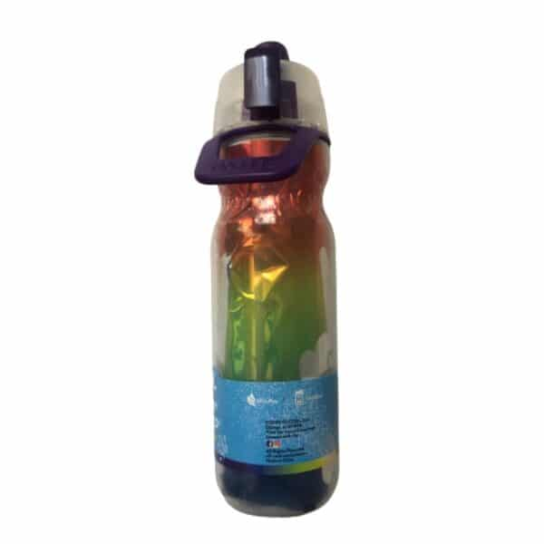 O2COOL® Arctic Squeeze Mist N' Sip 20 oz. Insulated Water Bottle Purple