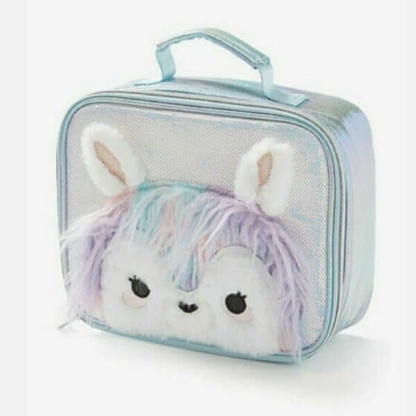 Justice Lunch Box Faux Fur