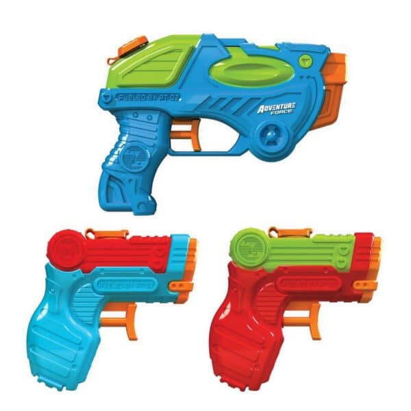 Adventure Force Tidal Storm Power Water Blasters 3 Pack Water Guns Up To 25 Ft