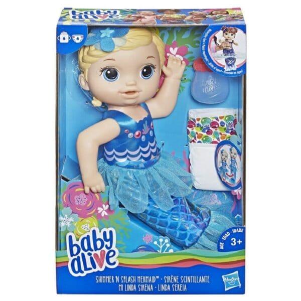 Baby Alive mermaid