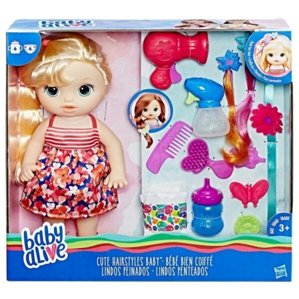 Baby Alive Cute Hairstyles Baby with Blonde Hair.