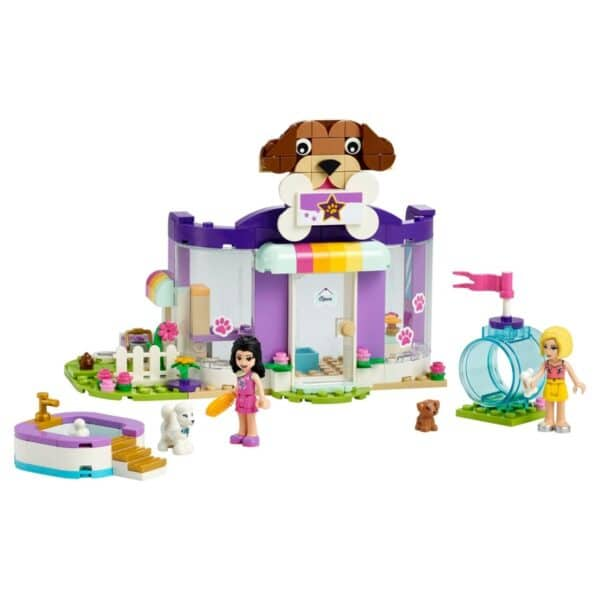 Lego Friends Doggy Day Care 41691 Building Toy; Includes 2 Mini-Dolls & 2 Toy Dog Figures (221 Pieces)